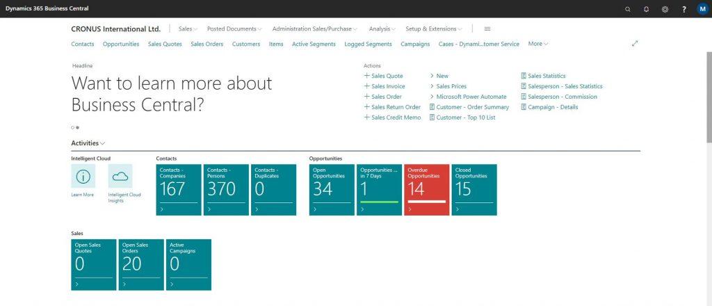 NAV/Business Central, NAV, Microsoft ERP